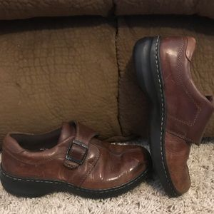 Eastland Brown Leather Loafers Size 7M VGC